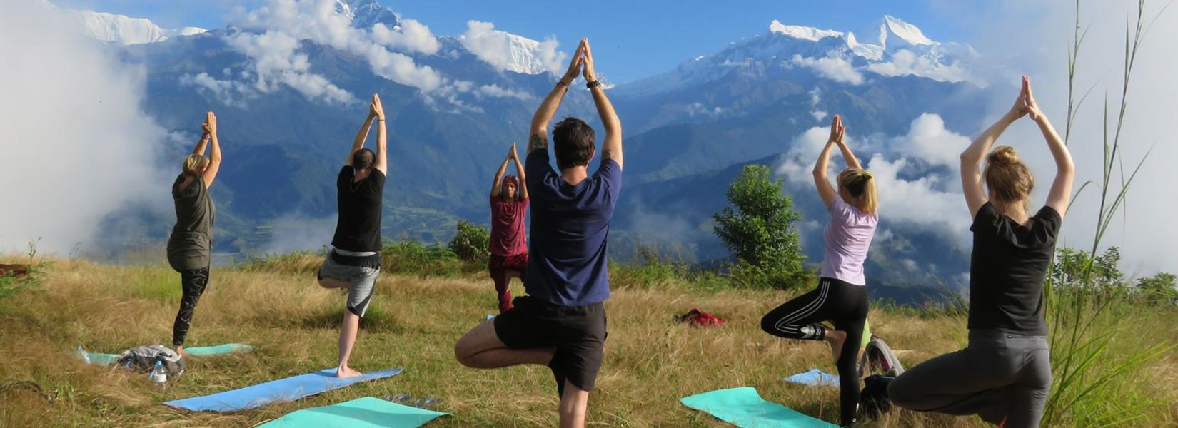 What Is Yoga Trekking In Himalayas: